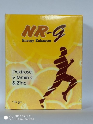 NR-G Dextrose Vitamin C And Zinc Energy Powder