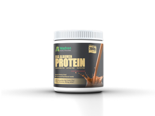 Madren Healthcare Egg Albumin Protein Powder