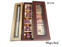 Wooden Moulding Box for Dry Fruit N Chocolates