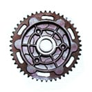 Rear Wheel And Chain Sprockets