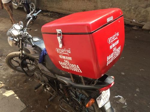 FRP Bike Food Delivery Box in  Swarn Park (Mundka)
