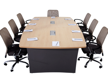 Godrej Ideate Seater Conference Table With Wire Manager SANUSHAA - Conference table india