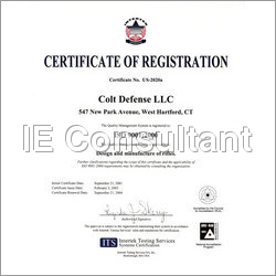 Iso Certification Consultant Services