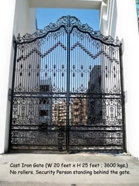 Cast Iron Gate Exclusive Designs
