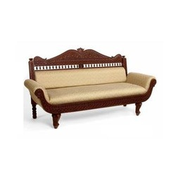 Bon Simple Design Classic Wooden Sofa In Shyam Nagar
