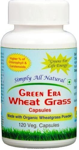 120 Veg Organic Wheat Grass Capsules