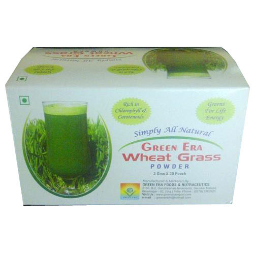 3 gms Organic Wheat Grass Powder