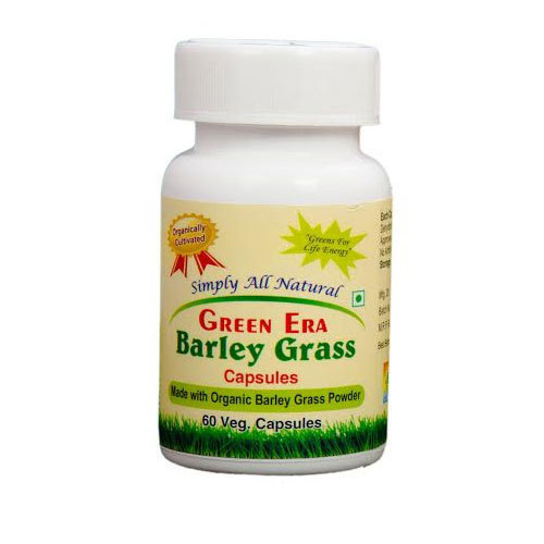 60 VEG Organic Barley Grass Powder Capsules