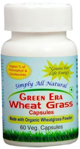 60 VEG Organic Wheat Grass Capsules