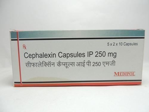 Cephalexin Capsules Ip 250mg
