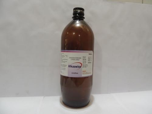 Di Sodium Hydrogen Citrate Syrup 4.14gm