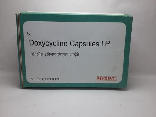Doxycycline Capsules Ip 100mg