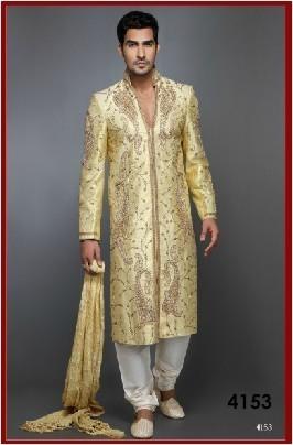 Mens Wedding Wear Sherwani In Mumbai Maharashtra R K Creation