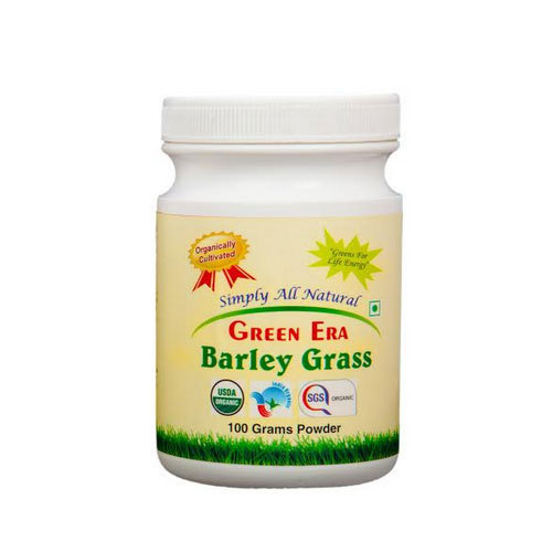 Organic Barley Grass Powder-100 Gms Per Bottle