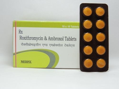 Roxithromycin Ambroxol 150 Mg 60 Mg