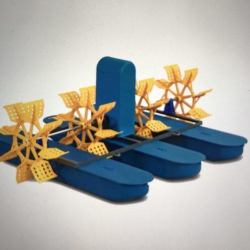1 HP 4 Paddle Wheel Aerator