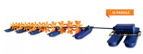 2 HP 12 Paddle Wheel Aerator