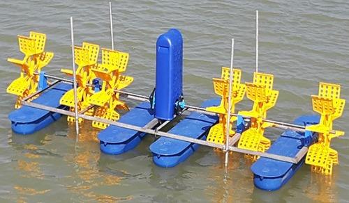 2 HP 6 Paddle Wheel Aerator