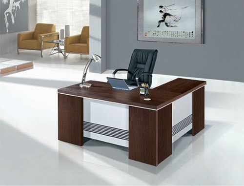 Modern Wooden Office Table Easy To Clean