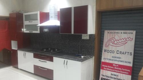 U Type Modern Modular Kitchen In New Area