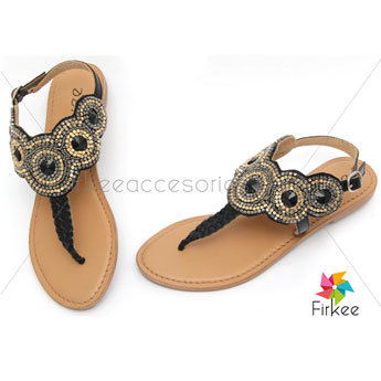Branded High Quality Ladies Designer Flat Sandal