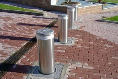 Industrial Crash Rated Bollards