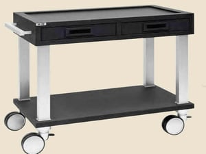 Portable Light Weight Service Trolley