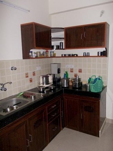 Pvc L Shaped Kitchen Cabinet Sri Amman Traders New No