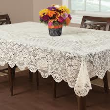 Decorative White Table Cloths