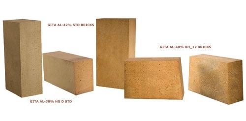 Moderate Heat Duty Bricks