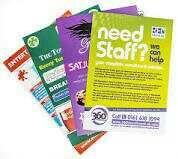 Folded Leaflets With Customized Printing