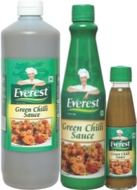 Green Chilli Sauce With Delectable Taste