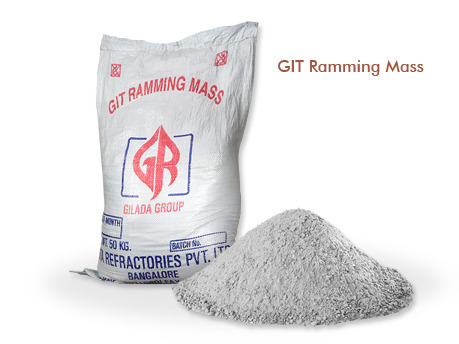 Acid Proof Mortars - GIT Ramming Mass