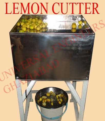 Semi Automatic Lemon Cutting Machine