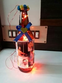 Bottle Lamp With Custom Sizes And Specifications