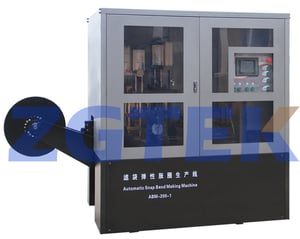 Automatic Snap Band Making Machine For Filter Bag