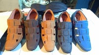 Mens Fancy Leather Sandals