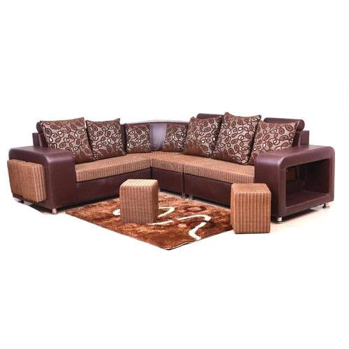 Puffy Corner Sofa Set