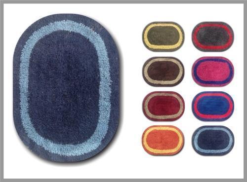 Cotton Oval Bath Mat