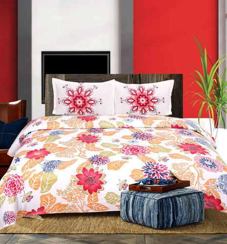 Soft Touch Cotton Printed Bed Sheet set
