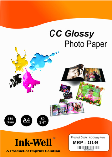 130 GSM Glossy Photo Paper