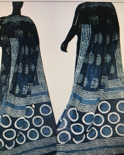 Bagru Block Printed Ladies Saree
