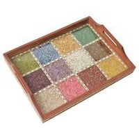 Handcrafted Wooden Gemstone Tray
