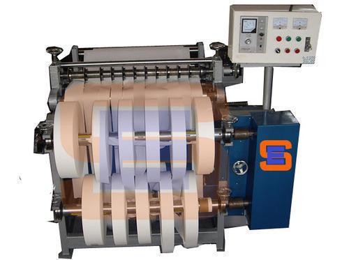 Label Slitting Rewinder Machine