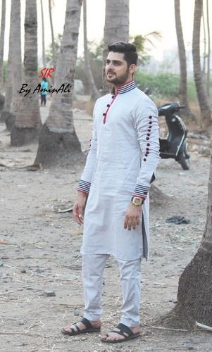 Light Grey Pathani Suits