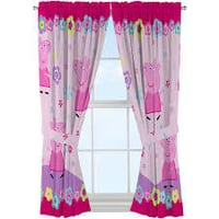 Printed Pure Silk Curtain