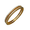Ladies Designer Diamond Bangle