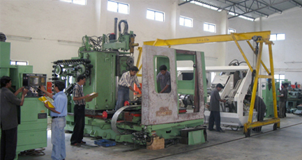 Machine Installation and Commissioning Service