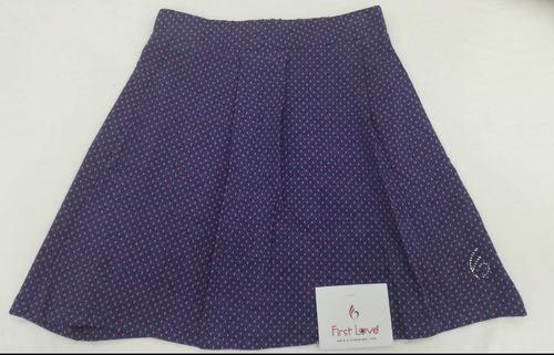 Printed Kids Casual Skirt