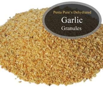 Pure Dehydrated Garlic Granules